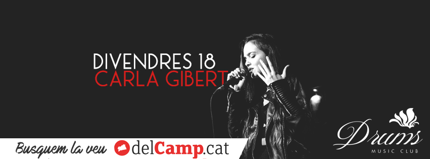 Carla Giber, en solitari, al Drums Music Club!